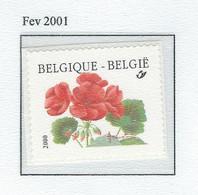 COB  2977  (MNH) + (°) - Unused Stamps