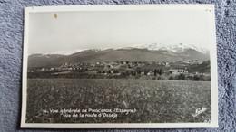 CPSM PUIGCERDA VUE GENERALE VUE DE LA ROUTE D OSSEJA ED NARBO MARIO 1949 PUNAISEE - Gerona