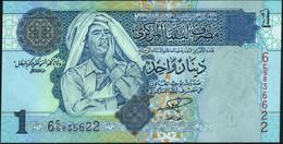 ♛ LIBYA - Libia  1 Dinar Nd.(2004) UNC P.68 A - Libia