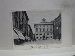 CIVITAVECCHIA  --  ROMA  ---  PIAZZA VITTORIO EMANUELE E MUNICIPIO - Civitavecchia