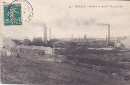 AVIT - RUELLE EN CHARENTE   FONDERIE  DE RUELLE VUE GENERALE CPA CIRCULEE - Ohne Zuordnung