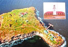 Ukraine. Blacksea. Lighthouse Snake Island (Serpent Island) Aerial View - Vuurtorens