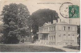 76 MONT-CAUVAIRE  Collège De Normandie - Andere Gemeenten