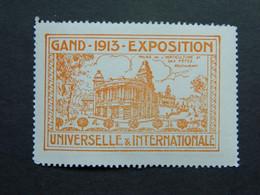 Vignette Exposition Universelle Gand Belgique Wereld Tentoonstelling Gent 1913 - Erinofilia