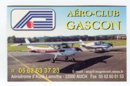 CdV °_ Tourisme-32-Auch-Aéro Club Gascon - Cartes De Visite