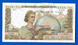10.000 Fr  Du  4/3/1954   Dans  L'etat - 10 000 F 1945-1956 ''Génie Français''