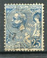 MONACO  N°  25  (Y&T)  (Oblitéré) - Usados