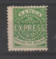 SAMOA  IS.:  1877  POSTA  LOCALE  -  5 S. VERDE  S.G. -  FAKE  COPY  -  YV/TELL. (7) - Samoa