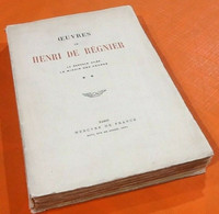 Oeuvres De Henri Régnier  Tirage N° 216   La Scandale Ailée / Le Miroir Des Heures (15 Avril 1914) - Libri, Riviste, Fumetti