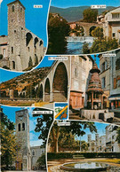 CPSM Les Hauts Lieux Touristiques Des Cévennes-Multivues    L11 - Zonder Classificatie