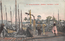 ¤¤   -   SENEGAL   -  RUFISQUE   -  Le Port  -  Afrique Occidentale   -   ¤¤ - Sénégal