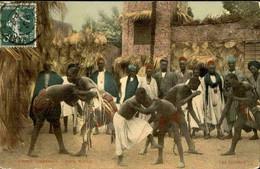 SÉNÉGAL - Carte Postale - Les Lutteurs - L 74614 - Sénégal