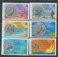 Iles Vierges N° 252 / 57  XX  Première émission De La Monnaie ; Oiseaux, Les 6 Valeurs Sans Charnière, TB - British Virgin Islands