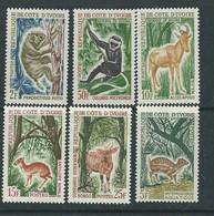 Côte D'Ivoire  N° 211 / 20 XX  Chasse Et Tourisme, La Série Des 13 Valeurs Sans Charnière, TB - Côte D'Ivoire (1960-...)