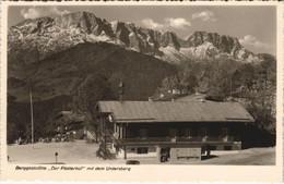 CPA AK Hotel U. Pension Der Platterhof Auf Dem Obersalzberg GERMANY (1063617) - Other