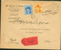 Egypt 1940 Register Used Cover - Brieven En Documenten