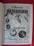 La Princesse Méduse. Conte De Daniel Darc, Illustré Par Regamey. Charpentier 1880 - Books, Magazines, Comics