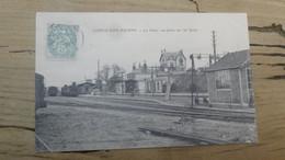 CONDE SUR HUISNE : La Gare, Vue Prise Sur Les Quais ................ 295 - Altri Comuni