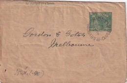 QUEENSLAND 1892  ENTIER POSTAL/GANZSACHE/POSTAL STATIONARY BANDE JOURNAL DE MARYBORGH - Briefe U. Dokumente