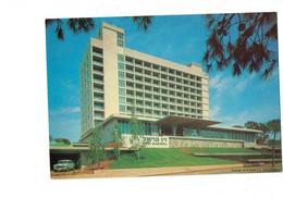 Cpm - ISRAEL - Dan Carmel Haifa Hotel - N°6389 - Publicité Alitalia Compagnie Aérienne - Fly - Voiture - Israël