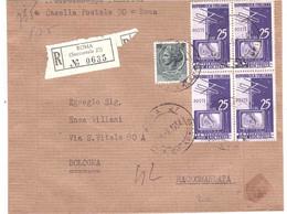 RACCOMANDATA ROMA SUCC.27 - 1946-60: Marcophilie