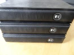 3 WWF Alben Schwarz Mit Hüllen + Schuber (15803) - Encuadernaciones Solas