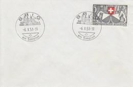 #240. Envellope Souvenir De Brig. 06-10-1951. - Marcofilie