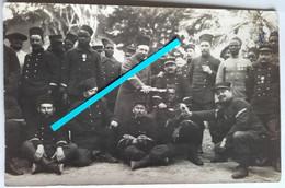 1915 Dardanelles Gallipoli Tirailleurs Sénégalais BTS Infanterie Coloniale  Poilus Tranchée 14-18 1914-1918 WW1 Cart Pho - War, Military
