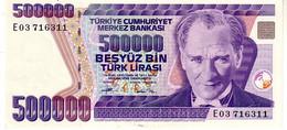 Turkey P.208c 500000 Lirasi 1994 Unc - Turquie