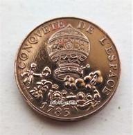 France - 10 Francs Conquète De L'Espace 1983 - K. 10 Franchi