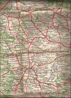 Carte Géographique Départementales JURA  Au 320000e  Cartes BLONDEL - Cartes Géographiques