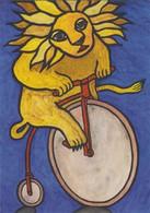 Cpm 1758 ERGON - Le Grand-bi Peugeot - Biclyclette - Bicycle - Vélo - Lion - Artiste Peintre - Illustrateur - Ergon