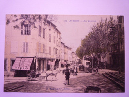 2020 - 8143  ANTIBES  (Alpes-Maritimes)  :  Rue AUBERNON  1915  XXX - Antibes