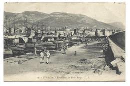 83 TOULON  Torpilieurs Au Petit Rang - Toulon