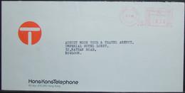 Hong Kong - Advertising Meter Franking Cover 1980 Telephone - Hong Kong (...-1997)