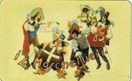 USATE ›  I 4 Moschettieri E Il Feroce Saladino - Publiques Figurées Ordinaires
