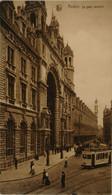 Antwerpen - Anvers /  Le Gare Centrale (niet Standaard Zicht - Met Zeer Fraaie Tram) 19?? - Antwerpen