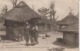 2044-014  FORTIER  Intérieur De Village  Col Génér Fortier Dakar  N° 35   La Vente Sera Retirée  Le 14-11 - Sénégal