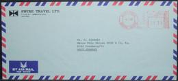 Hong Kong - Advertising Meter Franking Cover To Germany 1980 Tourism - Hong Kong (...-1997)