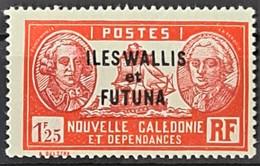 WALLIS ET FUTUNA 1939/40 - MLH - YT 82 - 1.25F - Unused Stamps