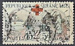 FRANCE 1918 - Canceled - YT 156 - 15c+5c - Usados