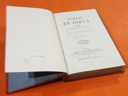 Paul De Saint-Victor   Hommes Et Dieux  (1868)  Michel Lévy Frères Libraires Editeurs Paris - Books, Magazines, Comics