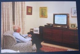 LEVY ESHKOL YOM KIPPUR WAR PRIME MINISTER POSTCARD ISRAEL PC ANSICHTKARTE SOUVENIR POST CARD PHOTO STAMP CACHET - Israel