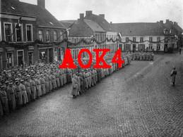 KORTEMARK Markt Flandern 1916 XXIII Reservekorps Parade Kaisers Geburtstag Torhout Feldpost - Kortemark