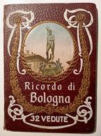 ANNI '30 BOLOGNA RICORDO DI BOLOGNA CARTELLINA (cm 11,8 X 16,6) CON 32 VEDUTE A COLORI DI BOLOGNA Copertina Con Illustr - Bologna
