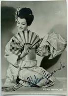 Cartolina Autografo WILMA VERNOCCHI - The Secondo Worldwide Madama Butterfly - Autografi