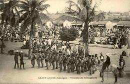 SÉNÉGAL - Carte Postale - Saint Louis - Tirailleurs Sénégalais - L 74708 - Sénégal