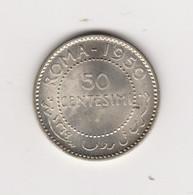 SOMALIE ITALIENNE - 50 CENTESIMI 1950 - ARGENT - Somalia