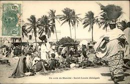 SÉNÉGAL - Carte Postale - Saint Louis - Un Coin Du Marché - L 74723 - Sénégal