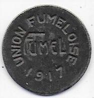 FUMEL -  Union Fumeloise - 10c  1917 - Monetari / Di Necessità